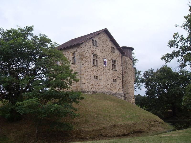 Photo du Monument Historique Ancien château de Camou situé à Aïcirits-Camou-Suhast
