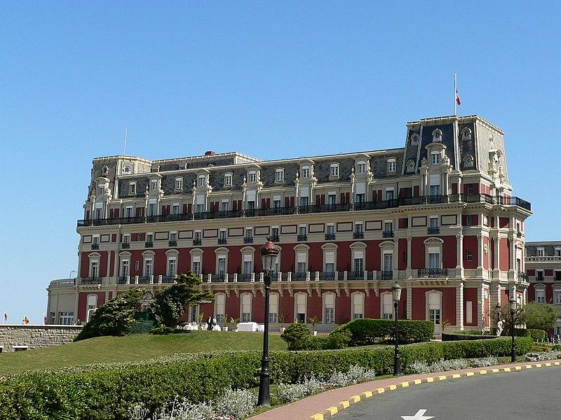 Photo du Monument Historique Hôtel du Palais situé à Biarritz