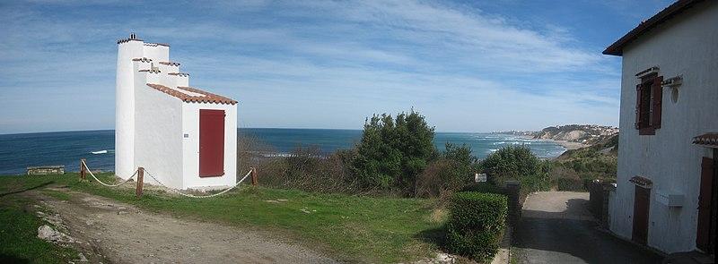 Photo du Monument Historique Ancienne atalaye de Guéthary situé à Bidart