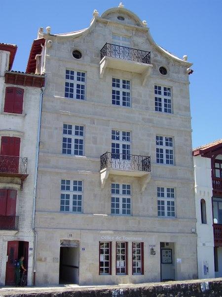 Photo du Monument Historique Maison de Ravel situé à Ciboure