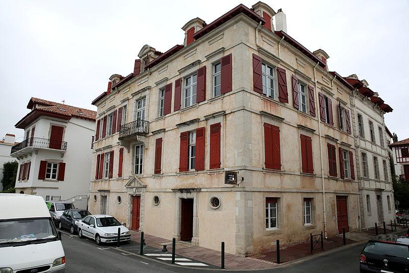 Photo du Monument Historique Maison Betbeder-Baïta situé à Saint-Jean-de-Luz