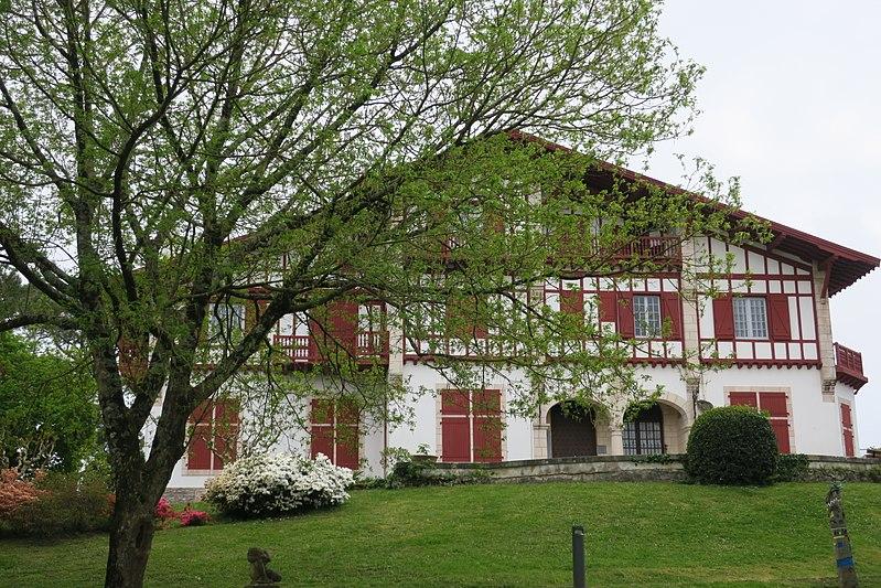 Photo du Monument Historique Villa Saraléguinéa situé à Guéthary