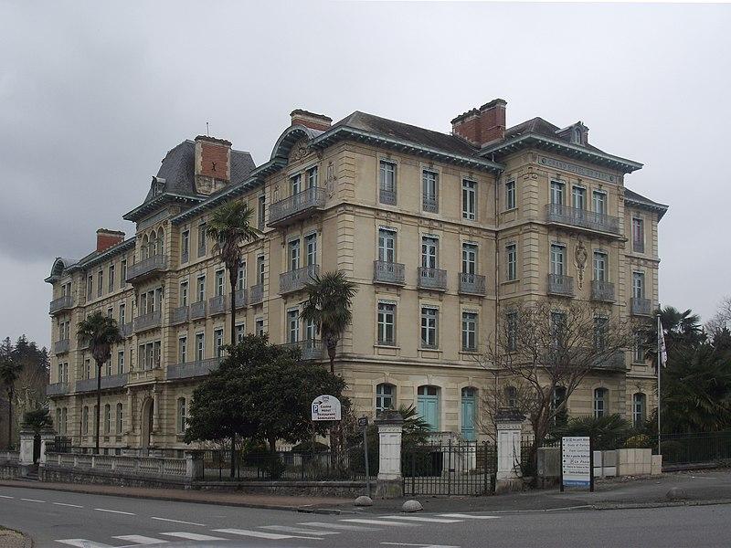 Photo du Monument Historique Grand Hôtel du Parc situé à Salies-de-Béarn