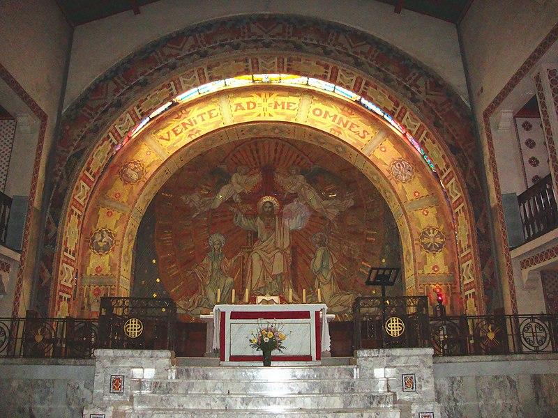 Photo du Monument Historique Chapelle du Sacré-Coeur, actuellement chapelle du lycée Saint-Joseph situé à Hasparren