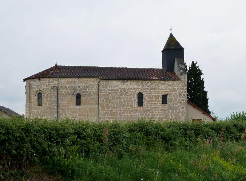 Photo du Monument Historique Eglise Saint-Orens situé à Escurès