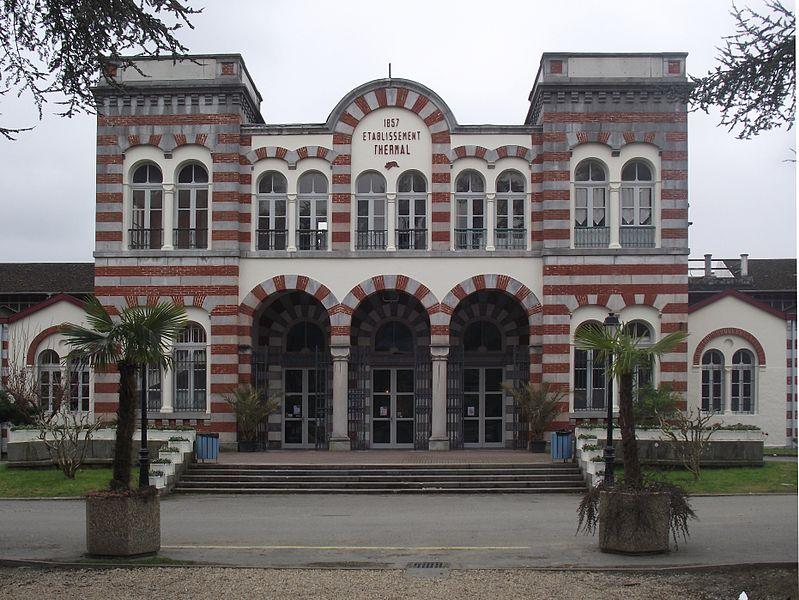 Photo du Monument Historique Etablissement thermal situé à Salies-de-Béarn
