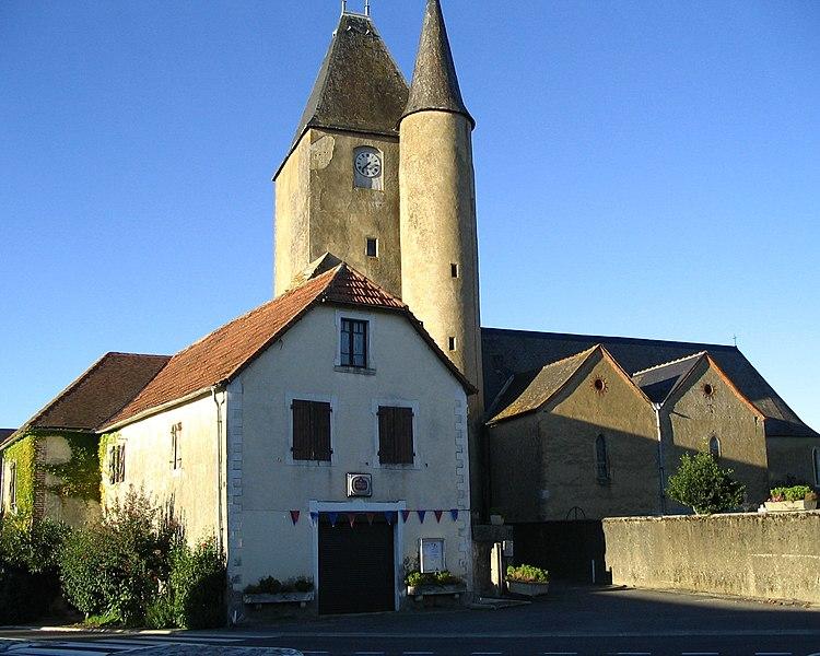 Photo du Monument Historique Eglise Saint-Pierre de Thèze situé à Thèze