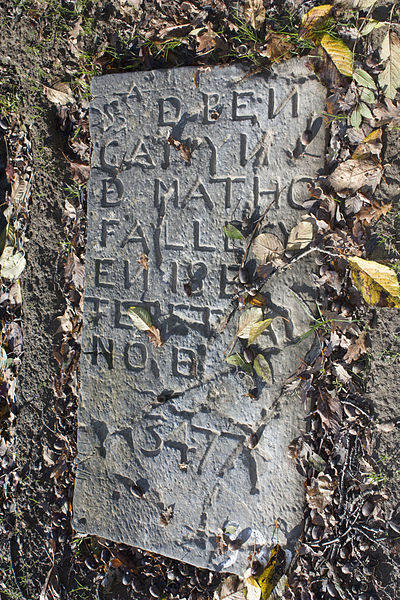 Photo du Monument Historique Cimetière juif de Bayonne situé à Bayonne