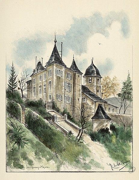 Photo du Monument Historique Château de Sévignac dit château d'Etigny (ancienne abbaye laïque) situé à Sévignacq-Meyracq