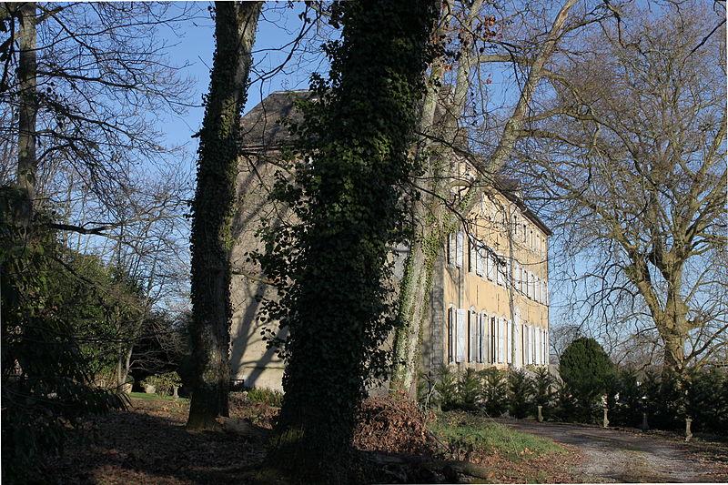 Photo du Monument Historique Château de Bernadets situé à Bernadets