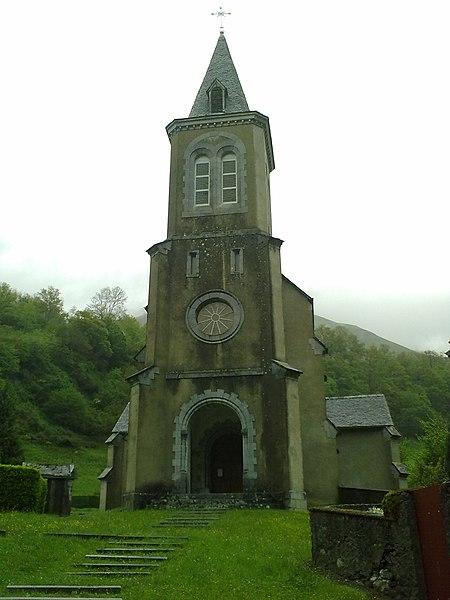 Photo du Monument Historique Eglise Saint-Pierre de Cette situé à Cette-Eygun