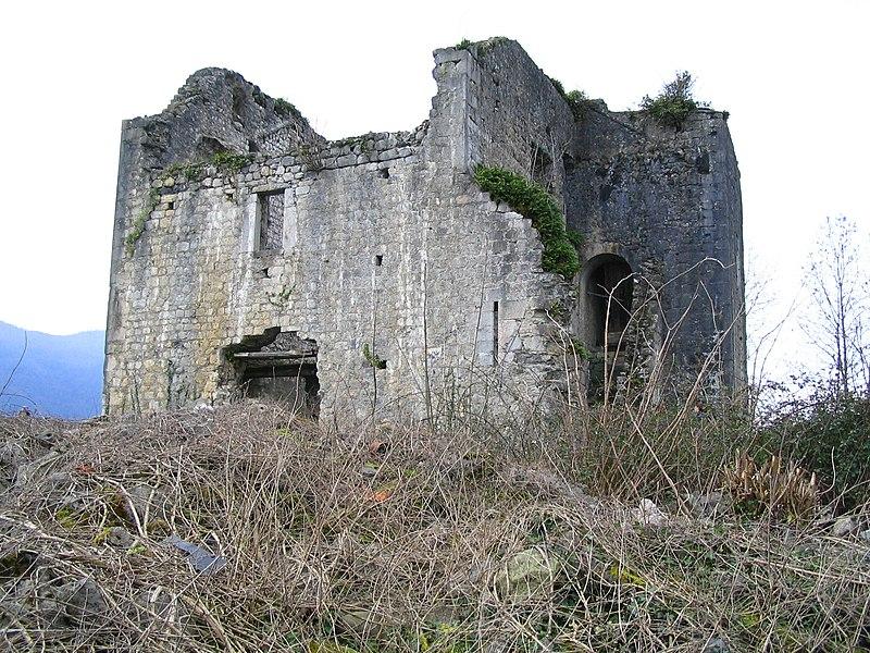 Photo du Monument Historique Château de Sainte-Colome situé à Sainte-Colome