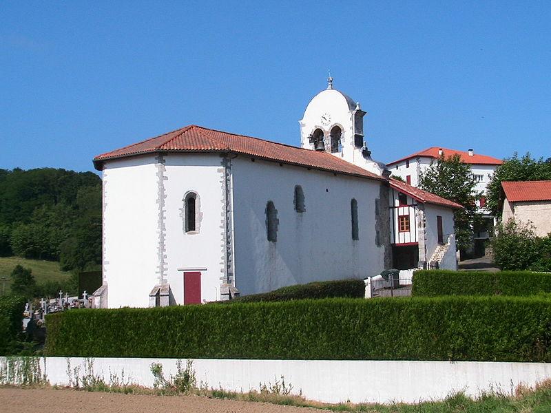 Photo du Monument Historique Eglise Saint-Etienne situé à Saint-Esteben