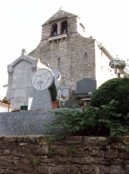 Photo du Monument Historique Eglise Saint-Nicolas situé à Guéthary