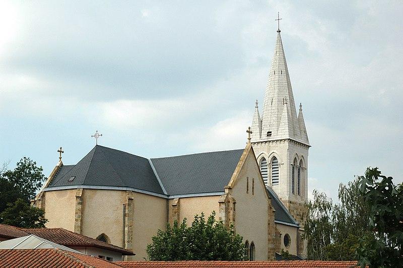 Photo du Monument Historique Eglise Saint-Vincent situé à Ustaritz