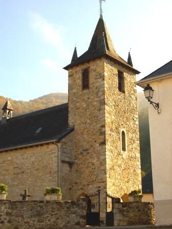 Photo du Monument Historique Eglise Saint-Jean-Baptiste situé à Larrau