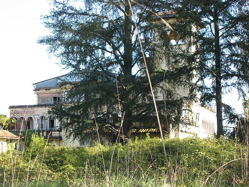 Photo du Monument Historique Domaine du Château Bijou situé à Labastide-Villefranche
