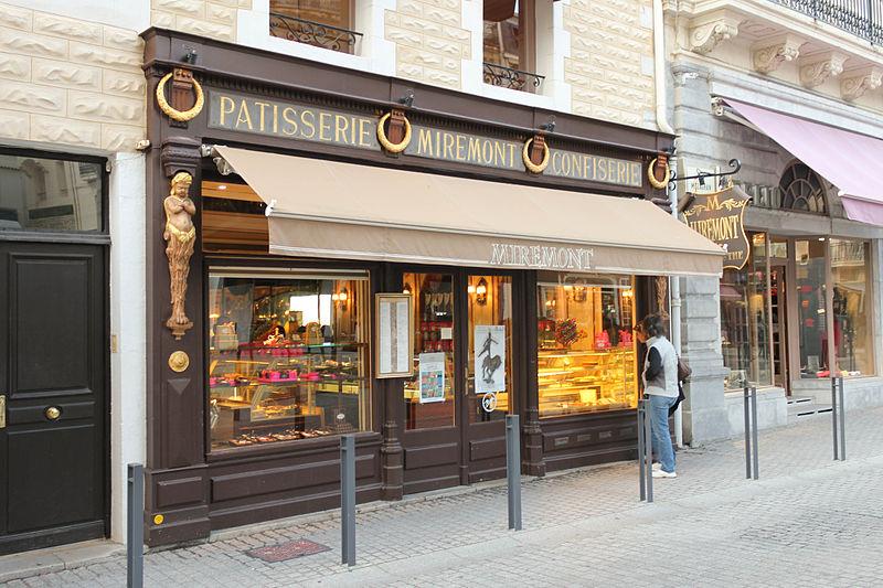 Photo du Monument Historique Pâtisserie Miremont situé à Biarritz