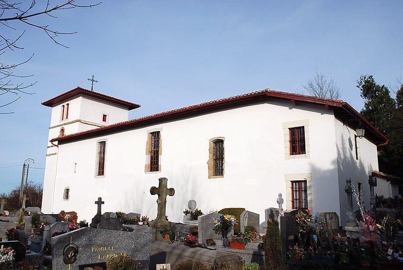 Photo du Monument Historique Eglise Saint-Sébastien situé à Jatxou