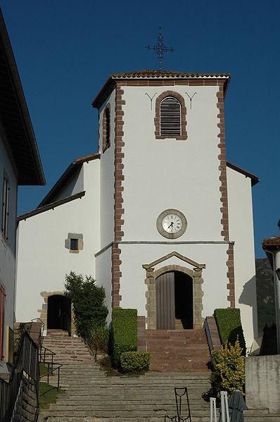 Photo du Monument Historique Eglise Saint-Martin de Biriatou situé à Biriatou
