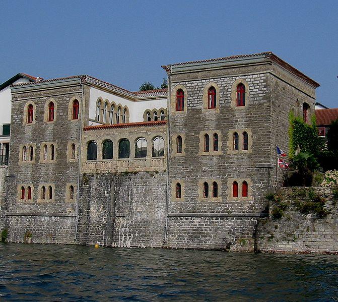 """Photo du Monument Historique Villa dite """" villa mauresque """" situé à Hendaye"""