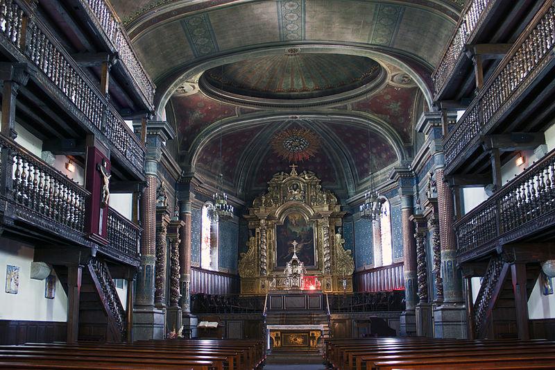 Photo du Monument Historique Eglise Saint-Laurent situé à Cambo-les-Bains
