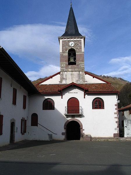 Photo du Monument Historique Eglise Notre-Dame de l'Assomption situé à Aldudes