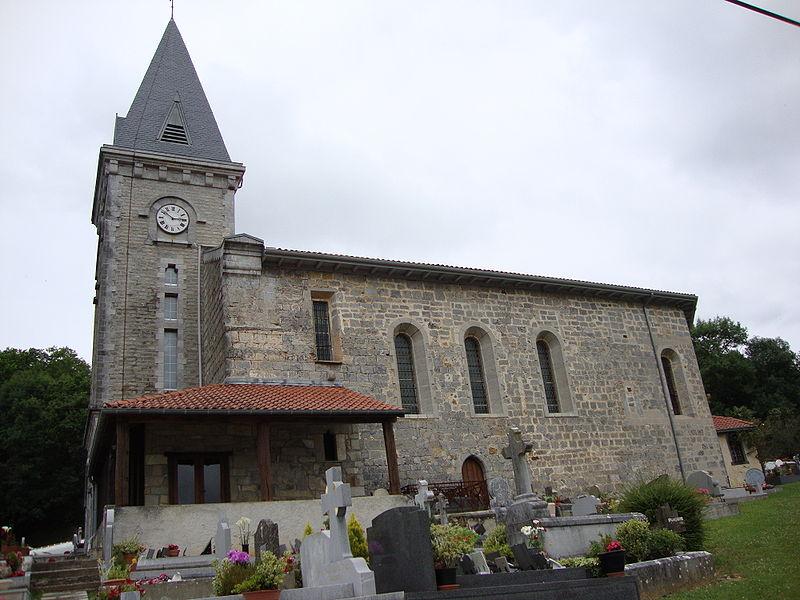 Photo du Monument Historique Eglise Saint-Pierre situé à Ayherre