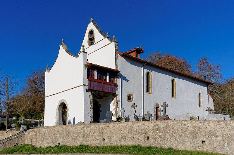 Photo du Monument Historique Eglise Notre-Dame situé à Halsou