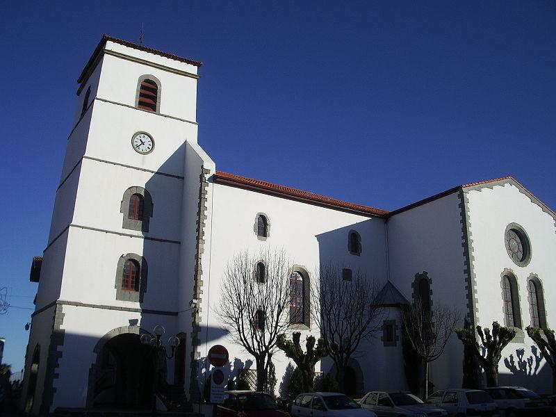 Photo du Monument Historique Eglise Saint-Vincent-Diacre situé à Hendaye