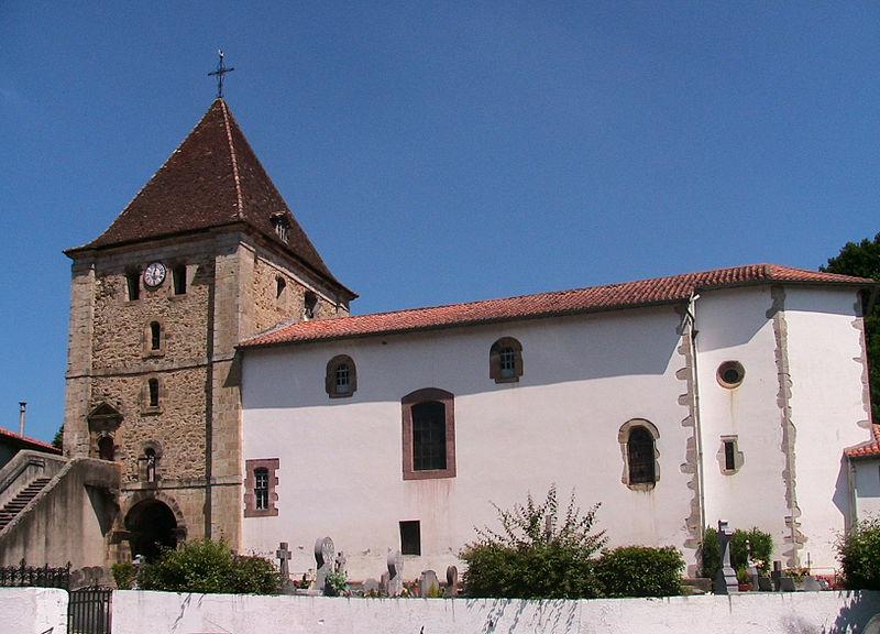 Photo du Monument Historique Eglise Notre-Dame de l'Assomption situé à Louhossoa
