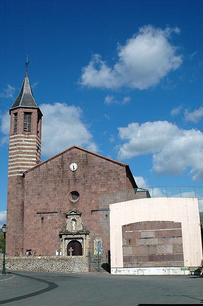 Photo du Monument Historique Eglise Saint-Julien-d'Antioche situé à Ossès