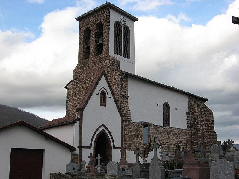 Photo du Monument Historique Eglise Notre-Dame de l'Assomption situé à Uhart-Cize