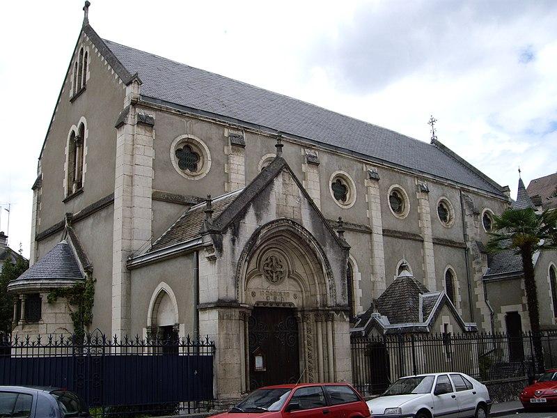 Photo du Monument Historique Eglise anglicane Saint-Andrew situé à Pau