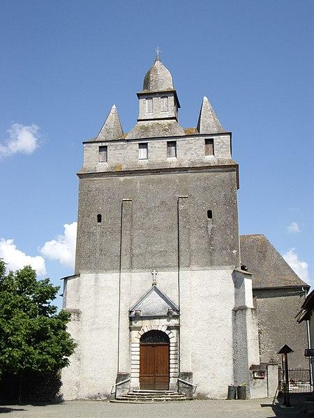 Photo du Monument Historique Eglise Saint-Barthélémy situé à Andrest