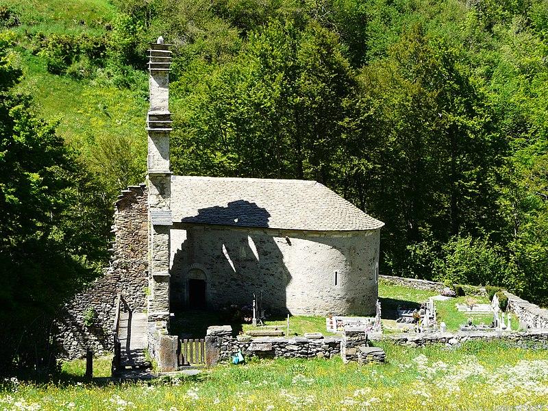 Photo du Monument Historique Eglise des Templiers, dite aussi Chapelle-du-Plan situé à Aragnouet