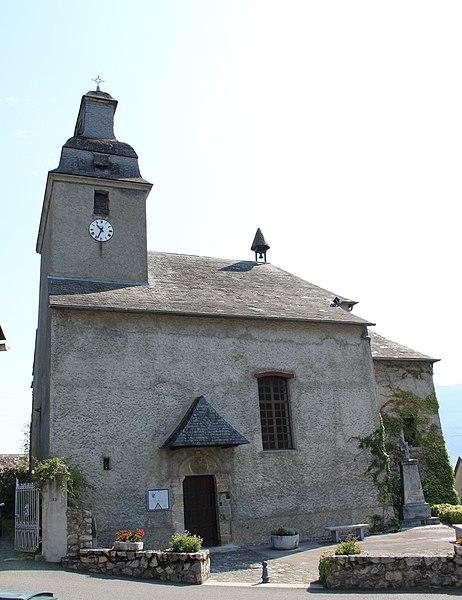Photo du Monument Historique Eglise situé à Arcizans-Avant