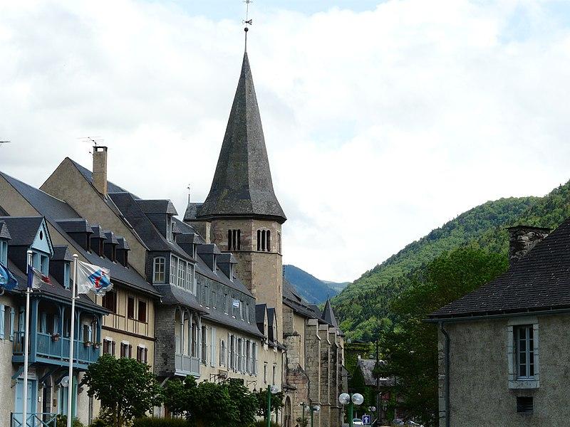 Photo du Monument Historique Eglise Saint-Exupère situé à Arreau