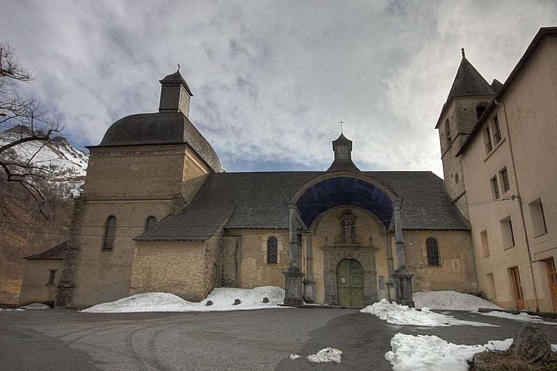 Photo du Monument Historique Chapelle de Pouey-Laün situé à Arrens-Marsous