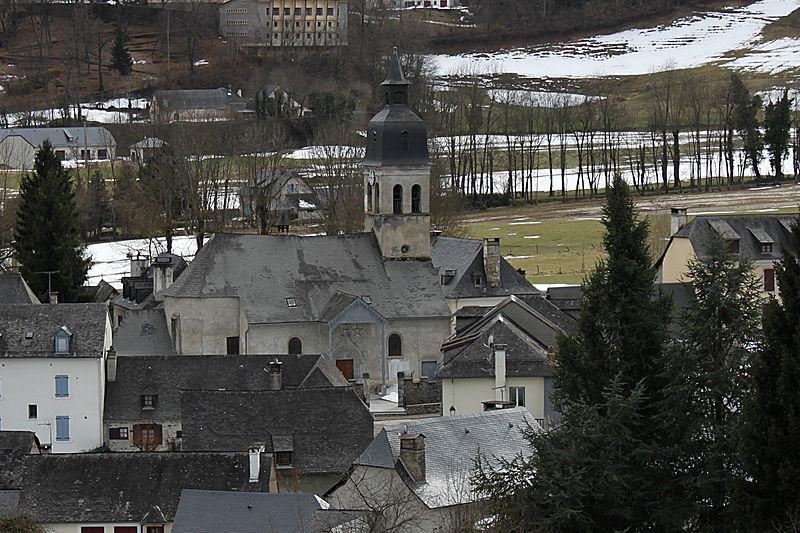 Photo du Monument Historique Eglise d'Arrens situé à Arrens-Marsous