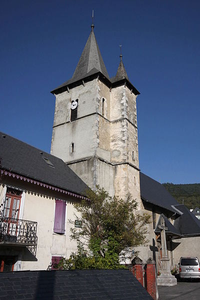 Photo du Monument Historique Eglise situé à Asté