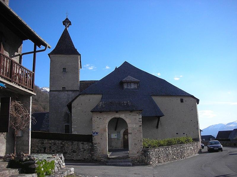 Photo du Monument Historique Eglise situé à Aucun