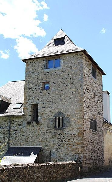 Photo du Monument Historique Vestiges de la tour situé à Aucun
