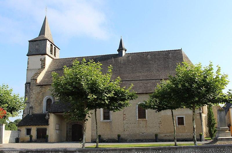 Photo du Monument Historique Eglise Saint-Fructueux situé à Azereix