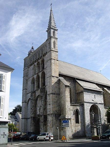 Photo du Monument Historique Eglise Saint-Vincent situé à Bagnères-de-Bigorre