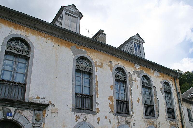 Photo du Monument Historique Maison d'Uzer situé à Bagnères-de-Bigorre