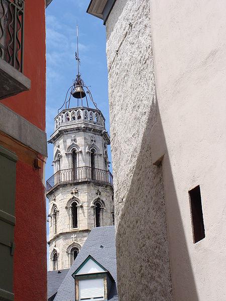 Photo du Monument Historique Tour des Jacobins situé à Bagnères-de-Bigorre