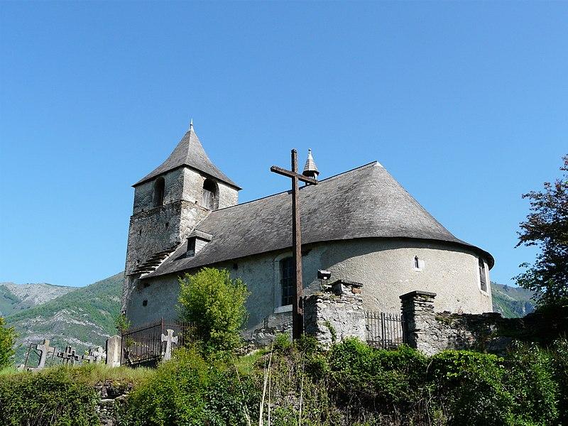 Photo du Monument Historique Eglise Saint-Barthélémy de Boô situé à Boô-Silhen