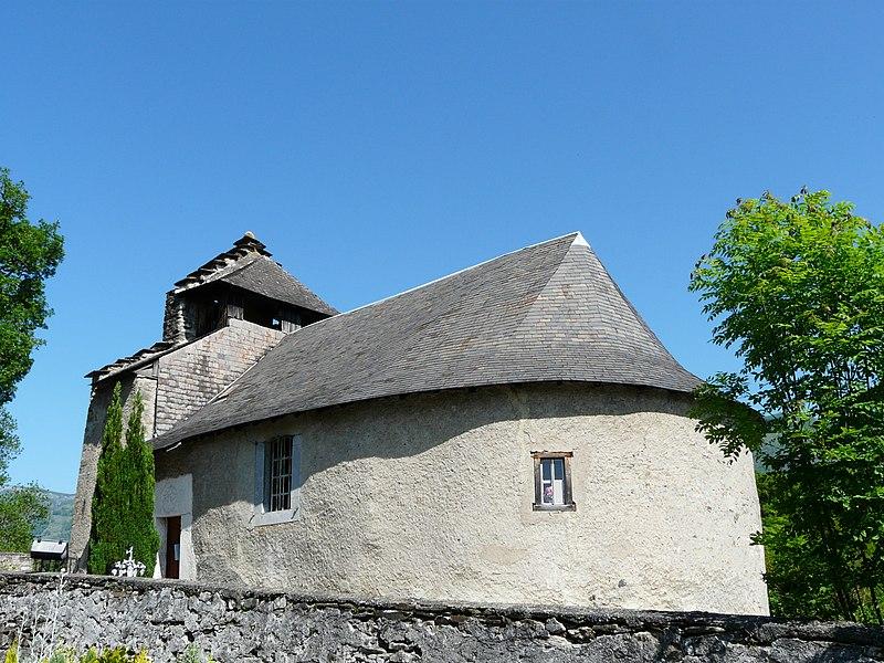 Photo du Monument Historique Eglise Saint-Vincent de Silhen situé à Boô-Silhen