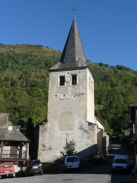 Photo du Monument Historique Eglise Notre-Dame situé à Bourisp
